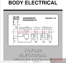 toyota electrical wiring diagram workbook auto repair manual