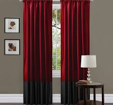 red black and gray curtains bedroom curtains siopboston2010 com