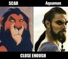 Aquaman Meme - dopl3r com memes scar from the lion king and aquaman look the same