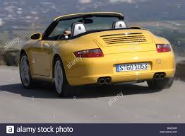 porsche 911 convertible 2005 porsche carrera 4s convertible 997 model year 2005 yellow open