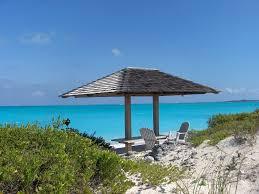 Tiki Hut On Water Vacation Exuma Bahamas