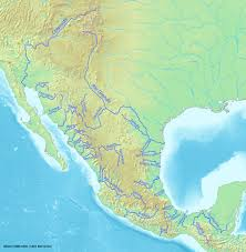 Colorado River On A Map by List Of Longest Rivers Of Mexico Wikipedia