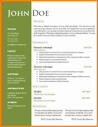 resume format word doc 9 curriculum vitae format word doc mail clerked