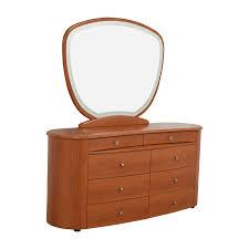 Mirror Dressers 56 Off Tall Cherry Dresser Storage