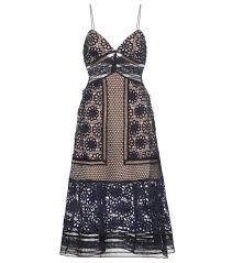 mytheresa com strappy midi lace dress clothing sale luxury