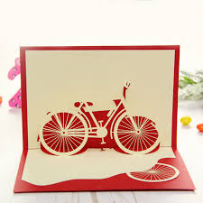 3d pop up origami paper laser cut greeting cards creative handmade