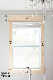 How To Install Interior Door Casing Diy How To Add Crown Trim To Door Frames The Painted Hive