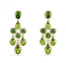 Peridot Chandelier Earrings 10 Peridot Jewellery Pieces To Covet This Month