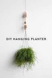 Diy Hanging Planters by D E S I G N L O V E F E S T Diy Hanging Planter