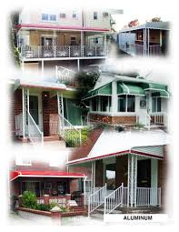 Awnings Of Distinction Residential Step Down Aluminum Awnings In Queens Brooklyn New