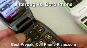 greatcall jitterbug vs consumer cellular doro phone video