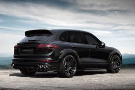 Custom Porsche Cayenne - porsche cayenne gt 2015 black on black topcar