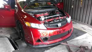 2007 honda civic si coupe kits 07 honda civic si kraftwerks supercharger dyno