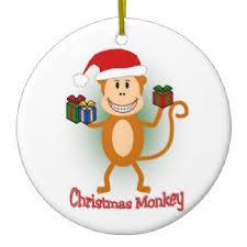 monkey ornaments keepsake ornaments zazzle
