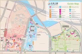 Expo Line Map Taipei International Flora Exposition