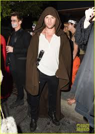 halloween party photo ryan phillippe finds the force u0026 miles teller rocks out at just