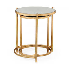 Zara Home Side Table Nest Of Mirrored Tables Gold Swanky Interiors