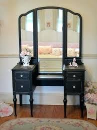 Tri Fold Bathroom Mirror by Antique Dressing Table With Trifold Mirror Tag Tri Fold Mirrors
