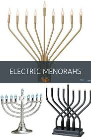 hanukkah menorahs 16 best electric menorahs led battery usb operated hanukkah
