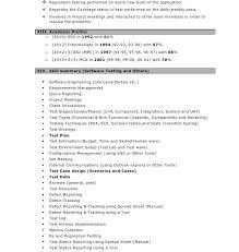 Testing Resume 100 Testing Profile Resume 100 Qtp Tester Resume Esl Essay