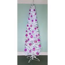 pre lit pink tree ft prelit with pre lit pink