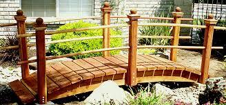 Backyard Bridge How To Build A Handcrafted Garden Bridge Japanese Garden Bridges