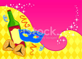 purim cards purim card template stock vector freeimages