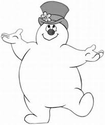 Frosty The Snowman Outdoor Decoration Frosty The Snowman Colouring Pages Page 3 Display Ideas