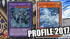 yugioh best invoked blue eyes deck profile new march 31st 2017