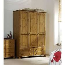steens richmond 3 door 4 drawer wardrobe antique pine bedroom