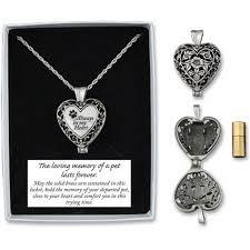 in loving memory lockets memorial locket necklace always in my heart pet dog in loving