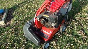 operating the troybilt chipper vac model 47279 youtube