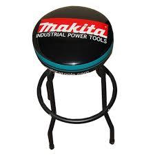shop bar stool makita bar stools shop gear advertising premiums