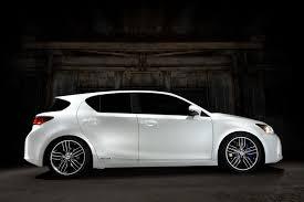lexus ct200h rear lexus bringing five customized hybrids plus ct 200h f sport to