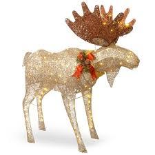 the aisle moose decoration figurine reviews wayfair