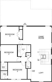 Georgetown Floor Plan Plan E 2412 Modeled U2013 New Home Floor Plan In Creekside At
