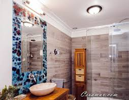 Mirror Bathroom Tiles Mirror Bathroom Decorative Tiles