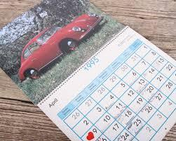 porsche poster 1995 porsche calendar porsche 356 car porsche collectible