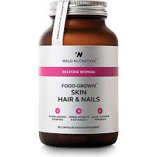 free uk p u0026p skin hair u0026 nails capsules food grown wild