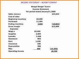 11 restaurant income statement template sql print statement