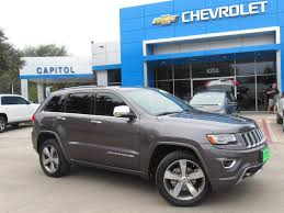 cherokee jeep 2014 pre owned 2014 jeep grand cherokee overland sport utility in