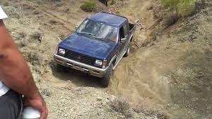mitsubishi strada 1995 mitsubishi l200 off road youtube