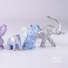 Porcelain Elephant Elephant Small Herend Figurines Herend Porcelain Animals