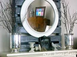 How To Decorate A Mirror Decoration Marvellous How To Decorate A Mantel With Round Wall