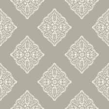 Tile Wallpaper York Wallcoverings Tropics Henna Tile Wallpaper At7027 The Home