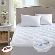 home design classic mattress pad comfort classics 3m scotchgard harmony waterproof mattress pad