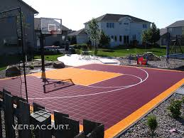 Backyard Sport Courts by Versacourt Game Court Solutions For Landscape Designers
