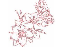 butterflies flowers and plants embroidery machine design sets page 1