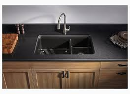 Two Bowl Kitchen Sink by Kohler Cairn 33 1 2