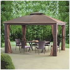wilson and fisher solar lights wilson fisher 8 x 11 rectangular offset umbrella with base and